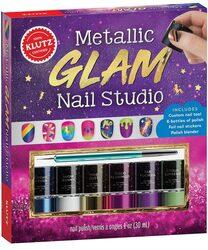Metallic Glam Nail Studio, Hardcover Book, By: Klutz