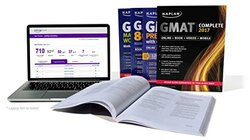 GMAT Complete 2017: The Ultimate in Comprehensive Self-Study for GMAT (Online + Book + Videos + Mobi, Paperback Book, By: Kaplan
