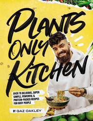 Plants Only Kitchen, Hardcover Book, By: Gaz Oakley