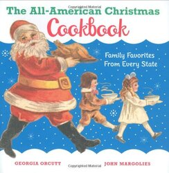 The All-American Christmas Cookbook, Hardcover, By: Chronicle Books