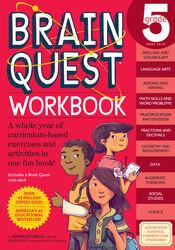 Brain Quest Workbook: Grade 5, Paperback Book, By: Bridget Heos