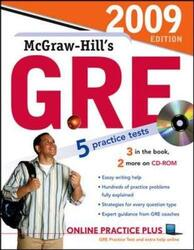 McGraw-Hill's GRE with CD-ROM, 2009 Edition (McGraw-Hill's GRE (W/CD)), Paperback Book, By: Steven Dulan