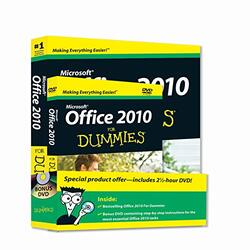 Office 2010 For Dummies, Book + DVD Bundle (For Dummies (Computer/Tech)), Paperback Book, By: Wallace Wang
