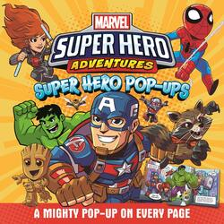Marvel - Super Hero Adventures: Super Hero Pop-ups, Hardcover Book