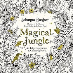 Magical Jungle: An Inky Expedition and Coloring Book, Paperback Book, By: Johanna Basford