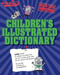 Childrens Illustrated Dictionary (Gold Stars), Paperback Book, By: Parragon Books