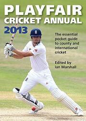 Playfair Cricket Annual - 2013, Paperback Book, By: Ian Marshall