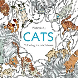 Cats (Colouring for Mindfulness), Paperback Book, By: Mesdemoiselles