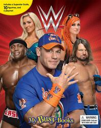 WWE My Busy Book, Board Book, By: Phidal Publishing Inc.