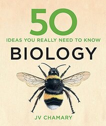 50 Biology Ideas You Really Need to Know, Hardcover Book, By: J. V. Chamary