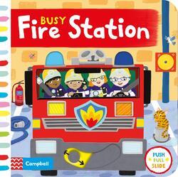 Busy Fire Station, Board Book, By: Campbell Books - Jo Byatt