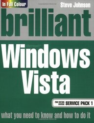 Brilliant Windows Vista SP1, Paperback Book, By: Mr Steve Johnson