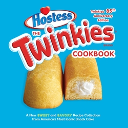The Twinkies Cookbook, Twinkies 85th Anniversary Edition, Hardcover Book, By: Hostess