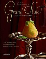 Entertaining in Grand Style, Hardcover Book, By: Nadege Forestier