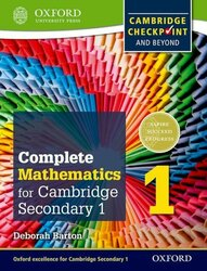 Complete Mathematics for Cambridge Secondary 1 Student Book 1: For Cambridge Checkpoint and beyond, Paperback Book, By: Deborah Barton