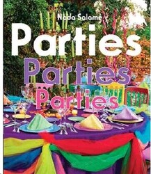 Parties Parties Parties, Hardcover Book, By: Nada Salame
