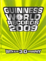 Guinness World Records 2009 (Guinness World), Hardcover, By: Various