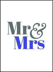 Mr & Mrs, Hardcover Book