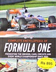 Encyclopedia Formula 1, Hardcover Book, By: Parragon Books