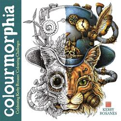 Colourmorphia: Celebrating Kerby Rosanes' Colouring Challenges, Paperback Book, By: Kerby Rosanes