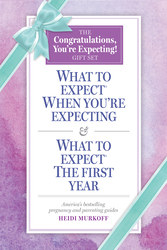 What to Expect: The Congratulations, You're Expecting! Gift Set, Paperback Book, By: Heidi Murkoff - Sharon Mazel