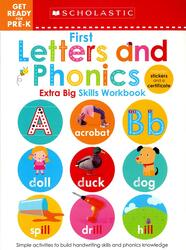 1st Letters and Phonics, Paperback Book, By: Scholastic Early Learners