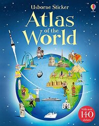 Sticker Atlas of the World, Paperback Book, By: Alice Pearcey
