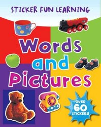 Words and Pictures (Photographic Sticker Fun Learning), Paperback Book, By: Parragon Book Service Ltd