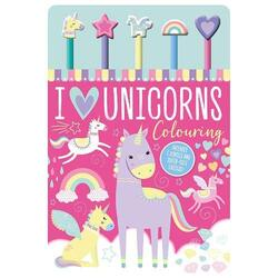 I Love Unicorns Colouring, Mixed Media Product/Book