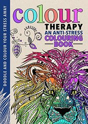 Colour Therapy (Creative Colouring for Grown-Ups), Hardcover Book, By: Cindy Wilde