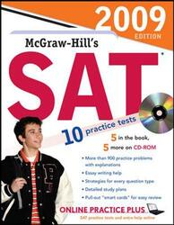 McGraw-Hill's SAT with CD-ROM, 2009 Edition (McGraw-Hill's SAT (W/CD)), Paperback Book, By: Christopher Black