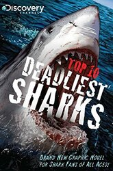 Discovery Channels Top 10 Deadliest Sharks, Paperback Book, By: Joe Brusha
