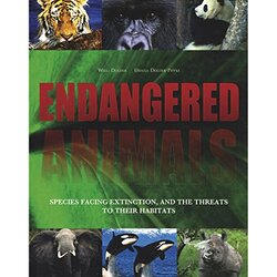 Endangered Animals: Species Facing Extinction and the Threats to Their Habitats, Hardcover Book, By: Willi Dolder