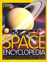 Space Encyclopedia, Hardcover Book, By: David A. Aguilar