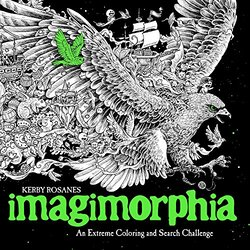 Imagimorphia: An Extreme Coloring and Search Challenge, Paperback Book, By: Kerby Rosanes