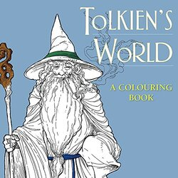 Tolkien's World: A Colouring Book, Paperback Book, By: Ian Miller