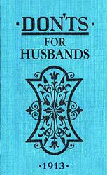 Don'ts for Husbands, Hardcover Book, By: Blanche Ebbutt
