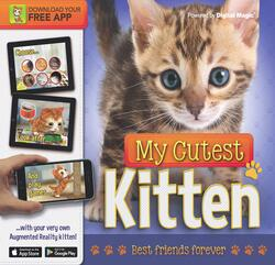 My Cutest Kitten Book (With Augmented Reality), Hardcover Book, By: Kay Woodward