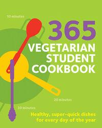 365 Vegetarian Student Cookbook, Paperback Book, By: Sunil Vijayakar
