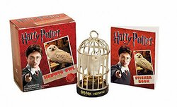 Harry Potter Hedwig Owl Kit and Sticker Book (Running Press Miniature Edition), Paperback Book