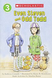 Even Steven and Odd Todd: Math Activities, Paperback Book, By: Cristaldi Kathryn