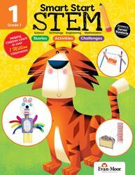 Smart Start Stem Grade 1, Paperback Book, By: Evan-Moor Educational Publishers