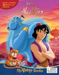 Disney Aladdin My Busy Book, Hardcover Book, By: Phidal Publishing Inc.
