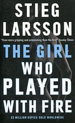 The Girl Who Played with Fire, Paperback Book, By: Stieg Larsson