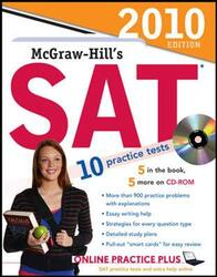 McGraw-Hill's SAT with CD-ROM, 2010 Edition (Mcgraw Hill's Sat (Book & CD Rom)), Paperback Book, By: Christopher Black