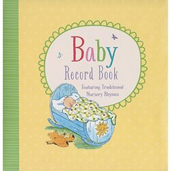 BABY RECORD BOOK (YELLOW), Hardcover Book, By: Parragon Books