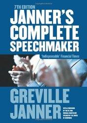 Janner's Complete Speechmaker, Paperback, By: Greville Janner