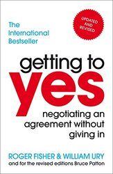Getting To Yes, Paperback Book, By: Roger William Fisher Ury Roger Fisher