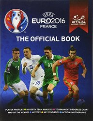 UEFA Euro 2016 France Official Book - Official Licensed product, Paperback Book, By: Keir Radnedge