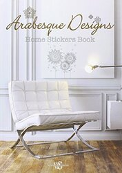 Arabesque Designs: Home Stickers Colouring Set, Hardcover Book, By: White Star
